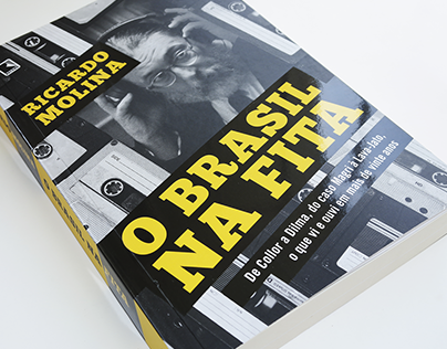O Brasil na fita | Book cover