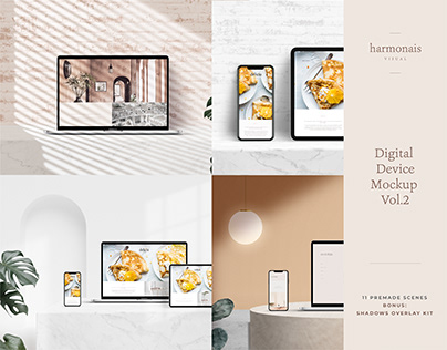 Digital Device Mockup Vol.2