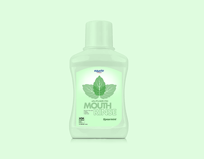 Equate Mouthrinse Label (Mock ReDesign)