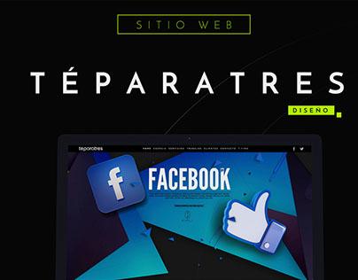 Agency Téparatres - Website Design