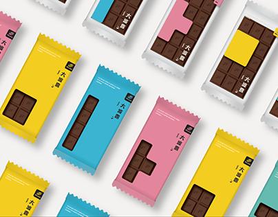 大波露巧克力 Chocolate Bar PackageRedesign Proposal