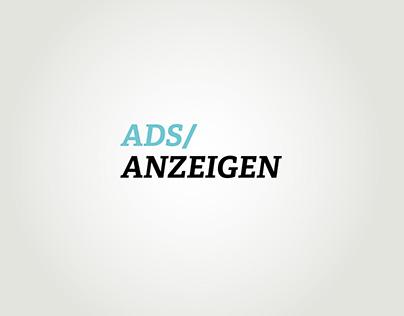 Ads / Anzeigen