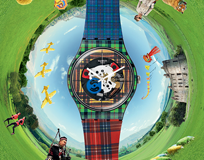 Swatch FW 2014 ads + pre roll web video