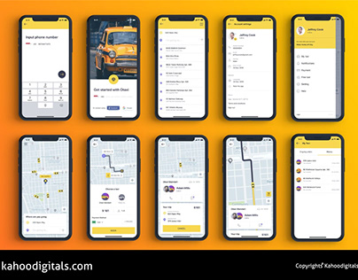 TAXI RIDE HAILING APP DESIGN AND DEVELOPMENT