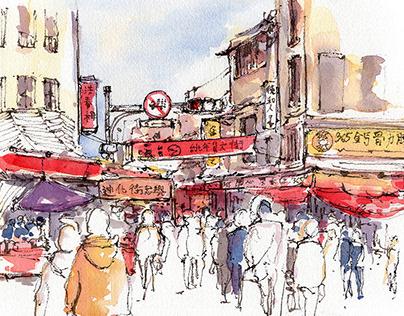 Taipei Urban Sketches