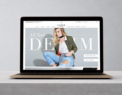 Lipsy Denim Campaign