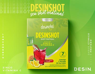 Lançamento Desinshot