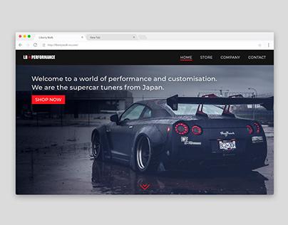 LB☆PERFORMANCE - Website