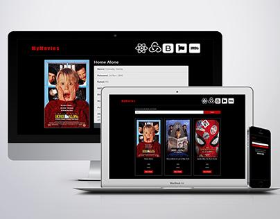 React-Redux Movies Finder Responsive Web App