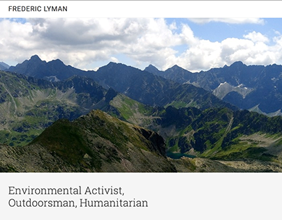 FredericLyman.org