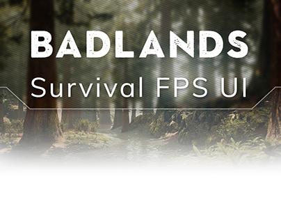 Badlands Game UI Design
