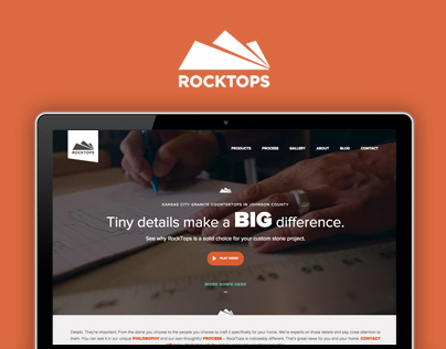 Rocktops Website & Branding Video.