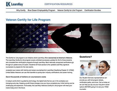 LearnKey 2020 Website Redesign and Rebuild