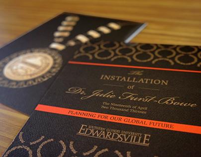 Invitation Design & Assets for Chancellor Installation