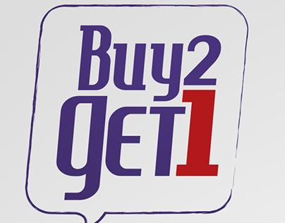 Buy 2 Get 1 this Ramadan