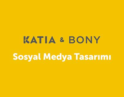 KATIA & BONY - Sosyal Medya Tasarımı