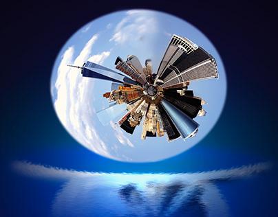 Skyscraper planet