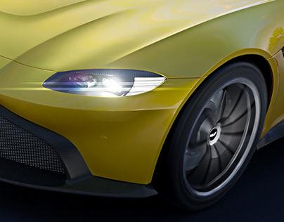 Aston Martin Vantage - Full CGI