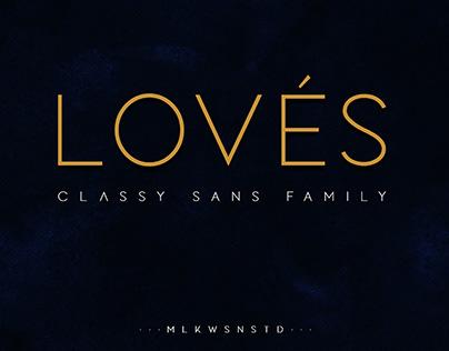 Free Loves Classy Sans Serif Font