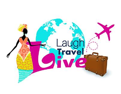 Laugh Travel Live Logo