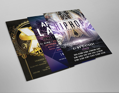 Flyers for Events & Nightclubs