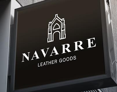Navarre Leather Goods Brand Identity