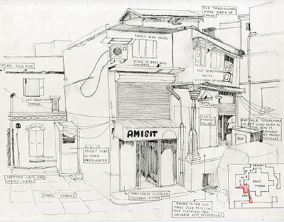 Manek Chowk: A study in sketches