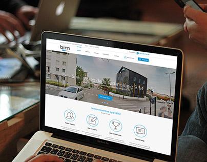 BIMServices : responsive webdesign