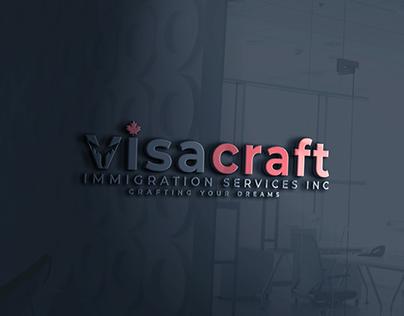 Visacraft logo design