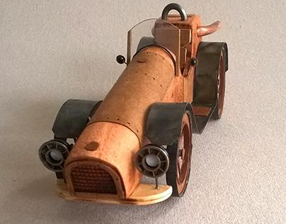 Auto del soberbio Altura: 8,5 cm