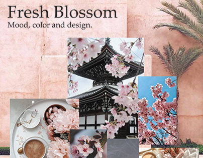 Fresh Blossom - Design project