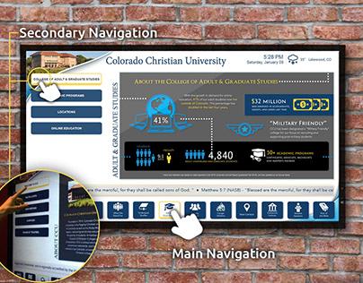 Colorado Christian University Interactive TVs