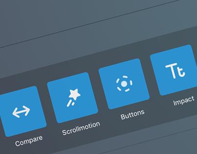 Custom Controls and Iconography