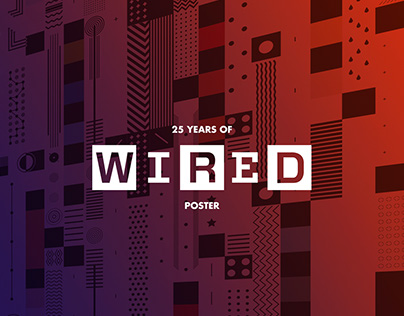 25 Years of Wired - Poster