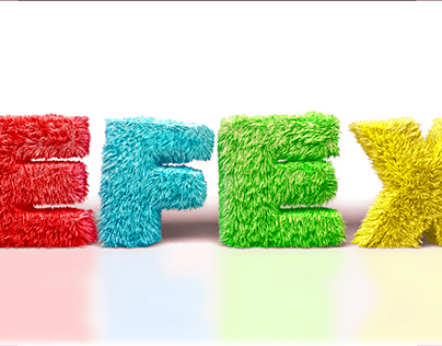 Letters animated - 3ds max with Blend and Twist