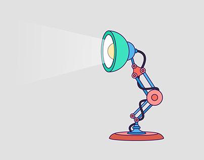 Pixar Lamp - Reanimated