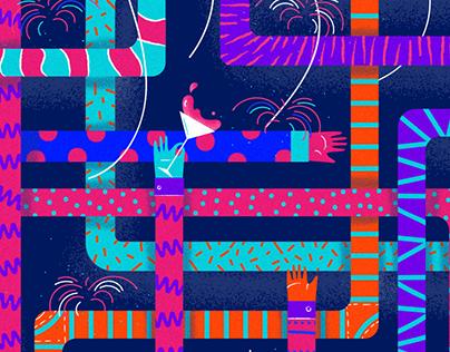 Holidays // Illustrations