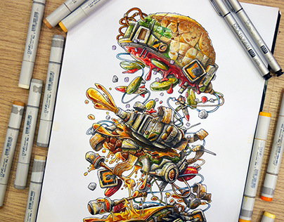 Metal Slug Burger