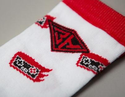 8-bit socks