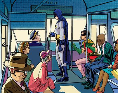 Batman 66 colors (2015)