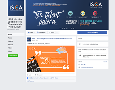 ISCA community Management