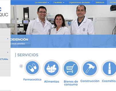 Centro de análisis químico UC