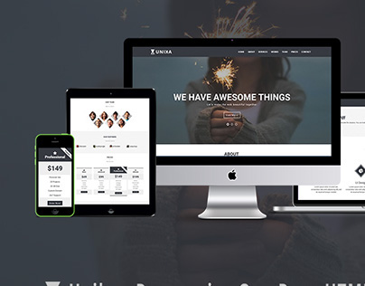 Unika- Free Responsive Web Template