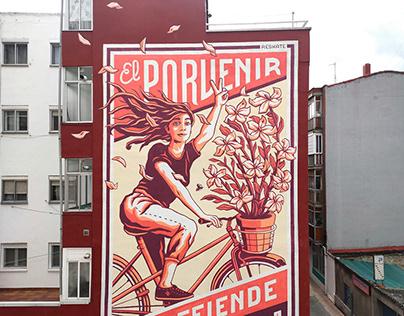 """""""El Porvenir"""" Wall (Valladolid, Spain)"""