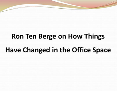 Ron Ten Berge Provides Excellent Counsel
