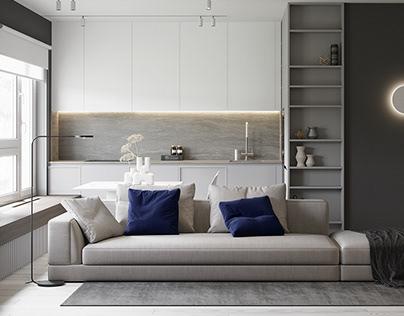 Minimalist style apartments