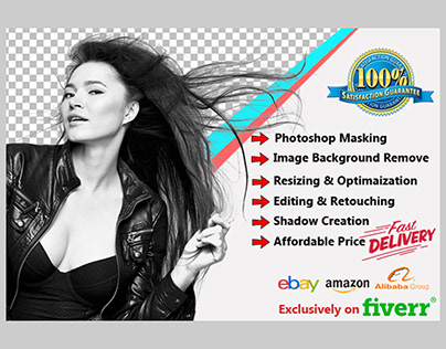 Photoshop Image Alpha Layer Masking Service.