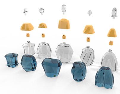 Flakon designs