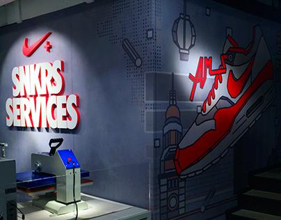 Nike Kicks Lounge HongKong