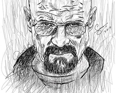 Digital Sketch: Scribbling | Cross-hatching